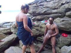 Videos sexlog mulher casada chupando negão na praia